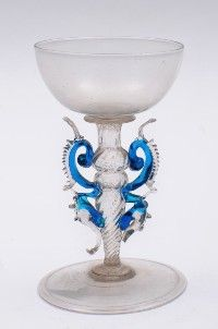 Venetian wine glasses of 16th - 17th Century - Google Search