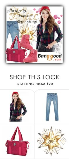 """Banggood 1"" by selmina ❤ liked on Polyvore featuring Kurt Adler and BangGood"