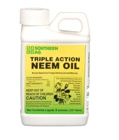 triple action neem oil mixing instructions