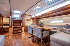Baltic 67 Is the Almost Perfect Performance Long Distance Cruiser Yacht Interior, Interior Design, Baltic Yachts, Yacht Builders, Best Insulation, Yacht Design, Almost Perfect, Luxury Yachts