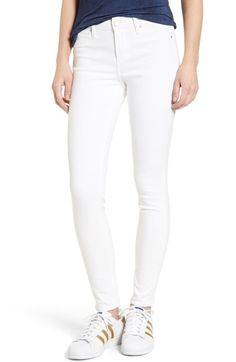 Articles of Society Sarah Skinny Jeans (Clear White) available at #Nordstrom