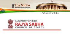 Lok Sabha and Rajya Sabha online material | GK | English | Aptitude | Reasoning | SSC | IBPS | Banking | Online study material