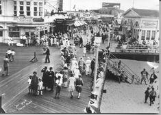 1920's Ocean City boardwalk
