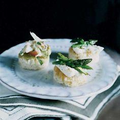 Asparagus-and-Ricotta Toasts  | Food & Wine
