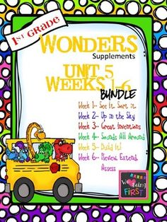 If you are already using or you are new to the Wonders (2014 edition) Reading Program, this 386 page bundle is for you. It includes all the weekly bundles sold separately, all in one purchase and one download. You'll have help with weekly lesson planning, printables for centers or word work activities, anchor charts, writing activities, high frequency word practice, an abundance of spelling activities, and much, much more.