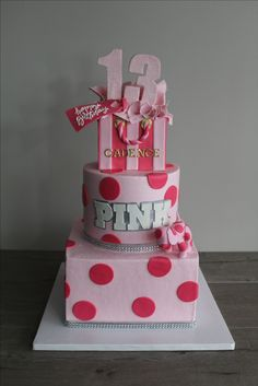 #victoriasecretpink  Inspired #birthday cake Special Events, Victoria Secret Pink, Birthday Cake, Cakes, Inspired, Desserts, Inspiration, Ideas, Food