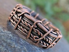 Hey, I found this really awesome Etsy listing at https://www.etsy.com/ru/listing/466175246/copper-band-ring-mens-unisex-wide-wire #wireringsdesigns #wirewrappedringsband