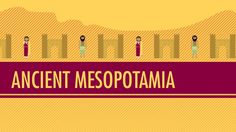 Crash course world history Mesopotamia good ancient history overviews for teacher Crash Course World History, World History Facts, Ancient World History, World History Lessons, History Jokes, History Projects, 6th Grade Social Studies, Teaching Social Studies, Teaching History
