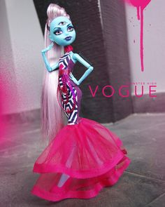 Monster Doll Vogue Edge Tritina by AralGhostier on Etsy