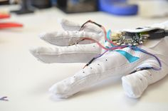 Overview | Flora MIDI Drum Glove | Adafruit Learning System