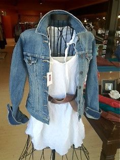 Levi's Jean Jacket n shirt soo cute
