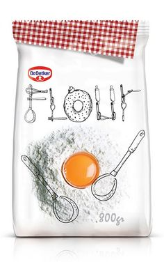 Flour (Student Work) on Packaging of the World - Creative Package Design Gallery Clever Packaging, Packaging Box, Pretty Packaging, Brand Packaging, Innovative Packaging, Design Packaging, Coffee Packaging, Food Design, Creative Design