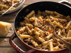 White Bolognese, a meat sauce made without tomato, is a variation you rarely see in America.