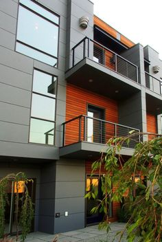 Good townhomes have the balcony thing covered!