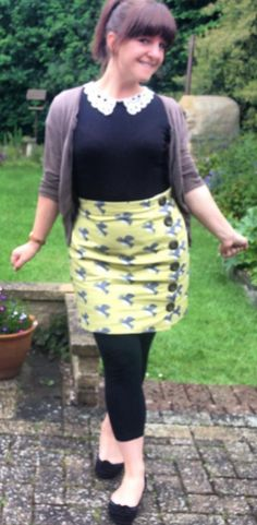 Jen's Arielle skirt - sewing pattern by Tilly and the Buttons