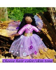 Sparkle Fairy Light Purple-Elves & Angels
