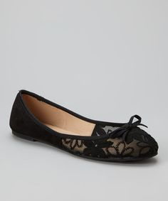 Look what I found on #zulily! Black Toni Ballet Flat by Mixx Shuz #zulilyfinds