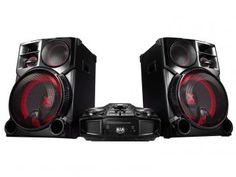 Mini System LG 1 CD 4100W MP3 - Multi Bluetooth Conexão USB CM9960