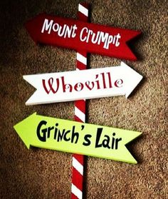 36 Whoville Grinch Christmas Yard Art Sign Decoration by WoodBeeUs. I need this with the Grinch yard cut out. Grinch Party, Le Grinch, Grinch Christmas Party, Christmas Yard Art, Office Christmas Party, Christmas Signs, Outdoor Christmas, Simple Christmas, Christmas Holidays