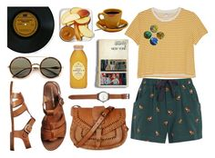 """""""Summer Vibes"""" by misfit5 ❤ liked on Polyvore featuring Monki, Sea, New York, Jack Spade, Warehouse and Windsor Smith"""
