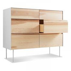 Clad 6 Drawer Dresser - Modern Dresser and Bedroom Storage | Blu Dot