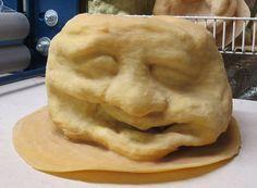 Latex Rubber Cement Face Mold Planter Concerete Face Mold