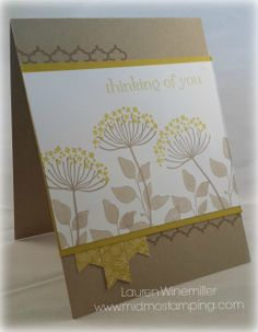 Stampin' Up! Summer Silhouettes Cased from Nadine--Thanks! details at www.midmostamping.com