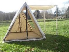 one Viking a-frame tent - Google Search