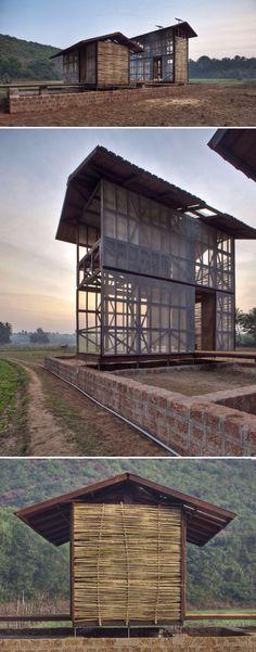 Hut-to-Hut,  Karnataka, India / Rintala Eggertsson Architects