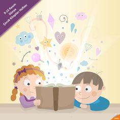 9-15 Kasım Dünya Çocuk Kitapları Haftası Kitaplar zekanın çocuklarıdır. Çocuklarımızı bu hazineden mahrum bırakmayalım. #Qapel #Kitap #ÇocukKitapları