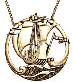 Sailing Ship Necklace