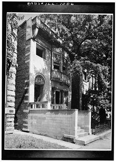 Albert W. Sullivan House, Chicago, Illinois. Adler and Sullivan. 1892