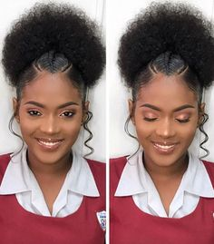 Hairstyles For Natural Hair Pleasing ❁ Pinterest 0Kaii ❁  Hair  Pinterest  Natural Hair Style And