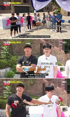 forever Rivals Kim Jong Kook and Yoo Jae Suk - Running Man