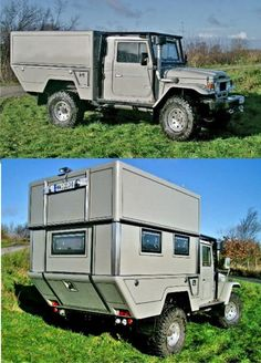possibly the most cunning small scale camper Ive seen, see originator details elsewhere on this board for more details. Build A Camper, Truck Bed Camper, Rv Truck, Camper Caravan, Off Road Camper, Camper Trailers, Trucks, Landrover Camper, Toyota Camper