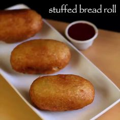 Watch Potato Stuffed Bread GIF on Gfycat. Discover more GifRecipes GIFs, vegangifrecipes GIFs on Gfycat Pakora Recipes, Cutlets Recipes, Chaat Recipe, Paratha Recipes, Spicy Recipes, Vegetarian Recipes, Curry Recipes, Bread Roll Recipe Indian, Kitchen Recipes