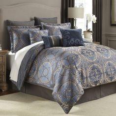Croscill Classics® Marcel 4-pc. Jacquard Comforter Set & Accessories  found at @JCPenney