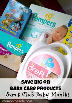Save Big on Baby Care Products: Sam's Club Baby Month is going on during September. Save on diapers, wipes, detergent, & more #SamsClubBaby #finds ad
