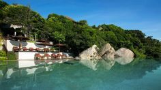 Set upon a hill in Koh Samui, Silavadee Pool Spa Resort enjoys a private beach and an outdoor infinity pool. Resort Villa, Resort Spa, Lamai Beach, Phuket Resorts, Ancient Buildings, Phuket Thailand, Koh Samui, Stay The Night, Luxury Yachts