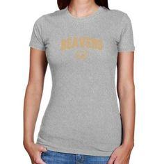 NCAA Bemidji State Beavers Ladies Ash Logo Arch T-shirt  $19.95