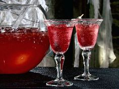 Dragon's Blood Party Punch #Halloween