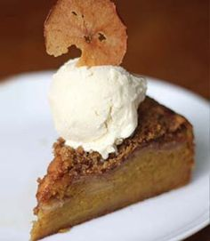 Oooh, yum! Apple Pumpkin Cake from professional pastry chef Zoe Francois of Zoe Bakes. ...