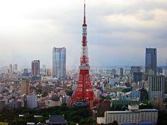 http://flic.kr/p/8DafL1 TOKYO TOWER / daytime