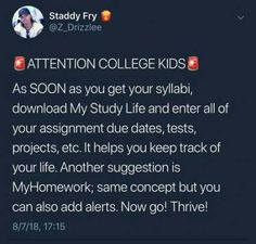 School study tips College hacks College life hacks Life hacks for school School hacks College prep - If you have problems maintaining the information you read you might need to find an alternate - Study Tips For High School, High School Hacks, College Life Hacks, Life Hacks For School, College Tips, Freshman Tips, Study College, Funny College, College Ready