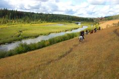 Horse back riding in British Columbia's Cariboo Chilcotin cowboy country