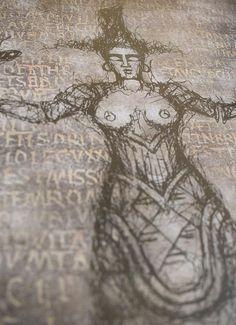 Serpent Goddess PencilBlack Digital print Premium Satin | Etsy #serpentgoddess #ancientgreece #crete Thanks For The Gift, Minoan, Ancient Greece, Crete, Paper Size, Occult, Giclee Print, Digital Prints, Satin