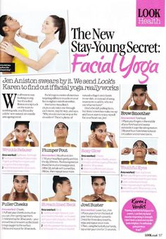 Facial Yoga for Younger Skin - Medical and Surgical Dermatologist Dr. Jonathan Schreiber, PhD is the Medical Director of Integrated Dermatology of Tidewater and Newport News in Virginia. Creator of one-of-a-kind patient care specializing in treating your Bikram Yoga, Yoga Pilates, Face Gym, Technique Massage, Skin Medical, Yoga Nature, Neck Exercises, Double Chin Exercises, Facial Exercises For Jowls