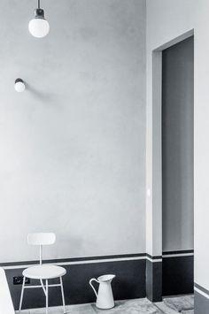 Wall detail I Szczecin loft I Photo by Karolina Bak via Inside Out