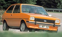 The Ford Fiesta Mk 1 launched in Ford Ireland is now looking for Ireland's oldest Fiesta. The Ford Fiesta is 40 years old this year an. Mk1, Henry Ford, Retro Cars, Vintage Cars, Muscle Cars, Mustang, Automobile, Ford Classic Cars, Old Fords