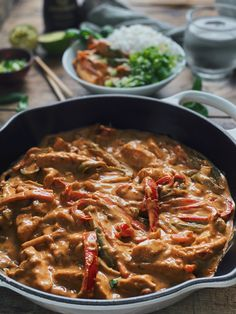 PANANG KYLLING – Mat Til Familien Curry, Food And Drink, Ethnic Recipes, Curries